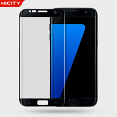Ultra Clear Tempered Glass Screen Protector Film 3D for Samsung Galaxy S7 Edge G935F Black