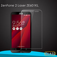 Ultra Clear Tempered Glass Screen Protector Film for Asus Zenfone 2 Laser 6.0 ZE601KL Clear
