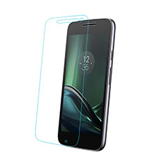 Ultra Clear Tempered Glass Screen Protector Film for Motorola Moto G4 Plus Clear