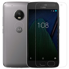 Ultra Clear Tempered Glass Screen Protector Film for Motorola Moto G5 Plus Clear