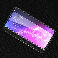 Ultra Clear Tempered Glass Screen Protector Film for Motorola Moto One Zoom Clear