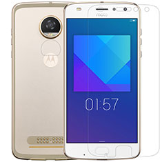 Ultra Clear Tempered Glass Screen Protector Film for Motorola Moto Z2 Play Clear