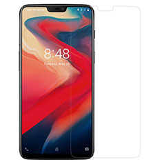 Ultra Clear Tempered Glass Screen Protector Film for OnePlus 6 Clear