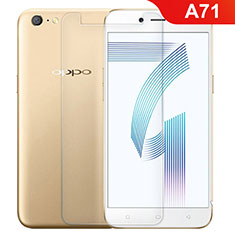 Ultra Clear Tempered Glass Screen Protector Film for Oppo A71 Clear