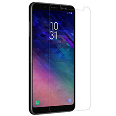Ultra Clear Tempered Glass Screen Protector Film for Samsung Galaxy A8+ A8 Plus (2018) Duos A730F Clear
