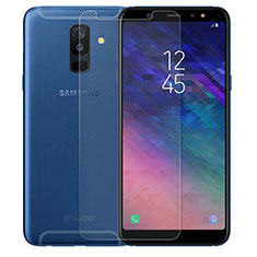 Ultra Clear Tempered Glass Screen Protector Film for Samsung Galaxy A9 Star Lite Clear
