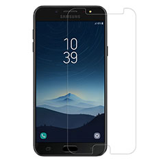 Ultra Clear Tempered Glass Screen Protector Film for Samsung Galaxy J7 Plus Clear