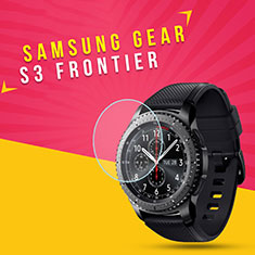 Ultra Clear Tempered Glass Screen Protector Film for Samsung Gear S3 Frontier LTE Clear
