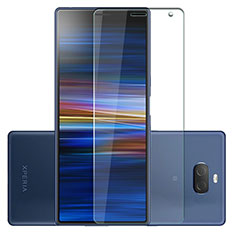 Ultra Clear Tempered Glass Screen Protector Film for Sony Xperia 10 Plus Clear