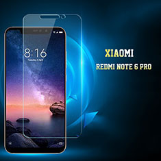Ultra Clear Tempered Glass Screen Protector Film for Xiaomi Redmi Note 6 Pro Clear