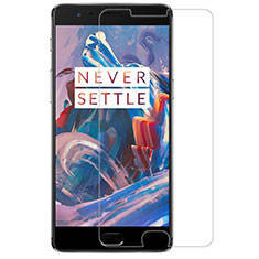 Ultra Clear Tempered Glass Screen Protector Film R02 for OnePlus 3 Clear