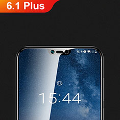 Ultra Clear Tempered Glass Screen Protector Film T01 for Nokia 6.1 Plus Clear