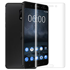 Ultra Clear Tempered Glass Screen Protector Film T01 for Nokia 6 Clear