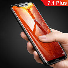 Ultra Clear Tempered Glass Screen Protector Film T01 for Nokia 7.1 Plus Clear