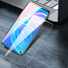 Ultra Clear Tempered Glass Screen Protector Film T01 for Oppo A72 5G Clear