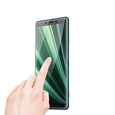 Ultra Clear Tempered Glass Screen Protector Film T01 for Sony Xperia XZ4 Clear