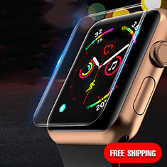 Ultra Clear Tempered Glass Screen Protector Film T02 for Apple iWatch 4 40mm Clear