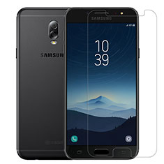 Ultra Clear Tempered Glass Screen Protector Film T02 for Samsung Galaxy J7 Plus Clear