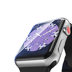 Ultra Clear Tempered Glass Screen Protector Film T03 for Apple iWatch 4 40mm Clear