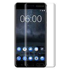 Ultra Clear Tempered Glass Screen Protector Film T03 for Nokia 6 Clear