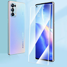 Ultra Clear Tempered Glass Screen Protector Film T03 for Oppo Reno5 Pro 5G Clear