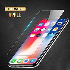 Ultra Clear Tempered Glass Screen Protector Film T08 for Apple iPhone X Clear