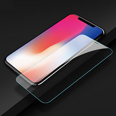 Ultra Clear Tempered Glass Screen Protector Film T09 for Apple iPhone X Clear