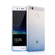 Ultra Slim Transparent Gel Gradient Soft Case for Huawei G9 Lite Black