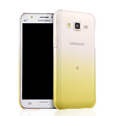 Ultra Slim Transparent Gel Gradient Soft Case for Samsung Galaxy J5 SM-J500F Yellow