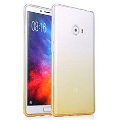 Ultra Slim Transparent Gel Gradient Soft Case for Xiaomi Mi Note 2 Yellow