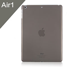 Ultra Slim Transparent Matte Finish Cover for Apple iPad Air Gray