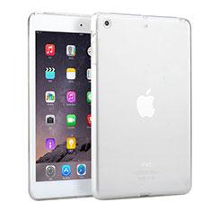Ultra Slim Transparent TPU Soft Case for Apple iPad Mini 3 White