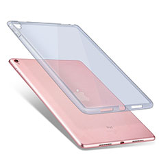 Ultra Slim Transparent TPU Soft Case for Apple iPad Pro 9.7 Blue