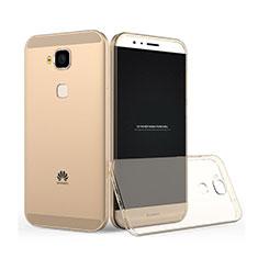 Ultra Slim Transparent TPU Soft Case for Huawei G7 Plus Gold