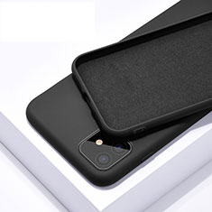 Ultra-thin Silicone Gel Soft Case 360 Degrees Cover C01 for Apple iPhone 11 Black