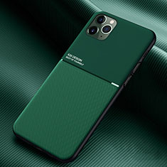 Ultra-thin Silicone Gel Soft Case 360 Degrees Cover C01 for Apple iPhone 11 Pro Green