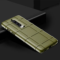 Ultra-thin Silicone Gel Soft Case 360 Degrees Cover C01 for OnePlus 8 Green