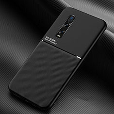 Ultra-thin Silicone Gel Soft Case 360 Degrees Cover C01 for Oppo Find X2 Pro Black