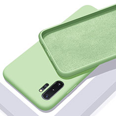 Ultra-thin Silicone Gel Soft Case 360 Degrees Cover C01 for Samsung Galaxy Note 10 Plus 5G Green