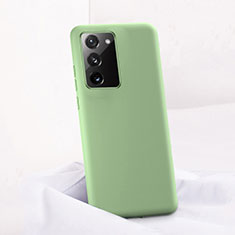Ultra-thin Silicone Gel Soft Case 360 Degrees Cover C01 for Samsung Galaxy Note 20 5G Green