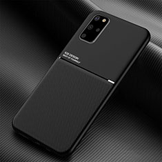Ultra-thin Silicone Gel Soft Case 360 Degrees Cover C01 for Samsung Galaxy S20 Plus 5G Black