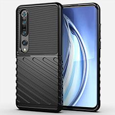 Ultra-thin Silicone Gel Soft Case 360 Degrees Cover C01 for Xiaomi Mi 10 Pro Black