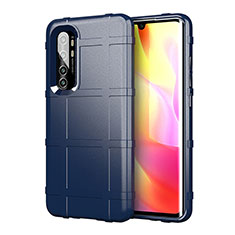 Ultra-thin Silicone Gel Soft Case 360 Degrees Cover C01 for Xiaomi Mi Note 10 Lite Blue