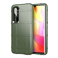 Ultra-thin Silicone Gel Soft Case 360 Degrees Cover C01 for Xiaomi Mi Note 10 Lite Green