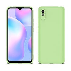 Ultra-thin Silicone Gel Soft Case 360 Degrees Cover C01 for Xiaomi Redmi 9A Matcha Green