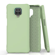 Ultra-thin Silicone Gel Soft Case 360 Degrees Cover C01 for Xiaomi Redmi Note 9 Pro Green