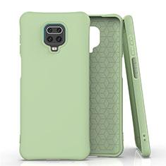 Ultra-thin Silicone Gel Soft Case 360 Degrees Cover C01 for Xiaomi Redmi Note 9 Pro Max Green