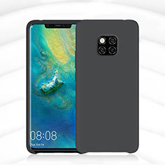 Ultra-thin Silicone Gel Soft Case 360 Degrees Cover C02 for Huawei Mate 20 Pro Black