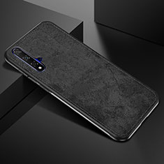 Ultra-thin Silicone Gel Soft Case 360 Degrees Cover C02 for Huawei Nova 5T Black