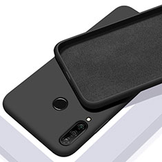 Ultra-thin Silicone Gel Soft Case 360 Degrees Cover C02 for Huawei P30 Lite New Edition Black